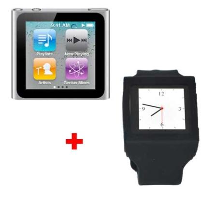iPod ano Touch 16GB Apple + Capa Relógio Mobimax, AP
