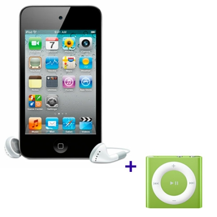 iPod touch com Memória de 32GB, LCD de 3.5