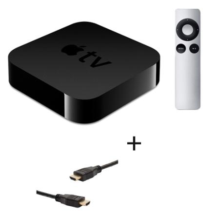 Apple TV - Alugue Filmes em HD, Assista a Vídeos do Netflix, YouTube e Vimeo, Desfrute de suas Músicas e Fotos do iCloud