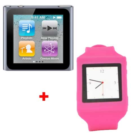 iPod Nano Touch 16GB Apple + Capa Relógio Mobimax, AP