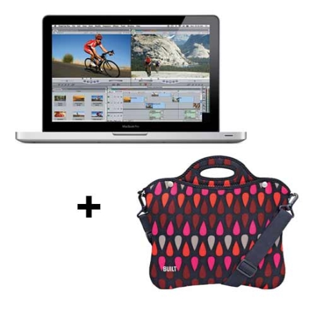 MacBook Pro com Intel Core i5 2.3GHz / 4GB / 320GB HD / Tela 13.3