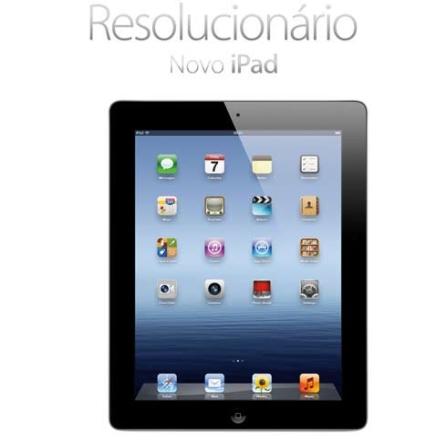Novo iPad Preto 32GB 9.7