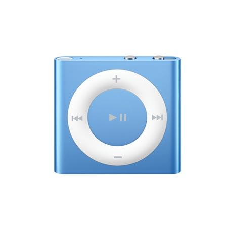 iPod shuffle laranja com 2GB e VoiceOver Apple