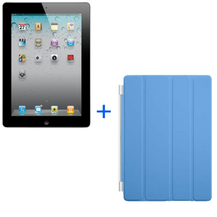 iPad 2 Preto 16GB+Smart Cover Azul, AP