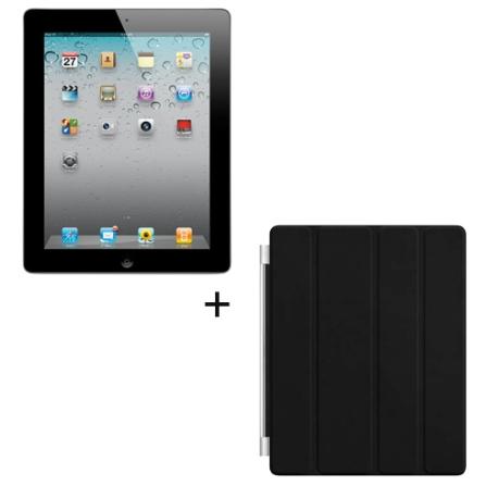 iPad 2 Apple Preto, 16GB, Wi-Fi e Capa Preta Apple