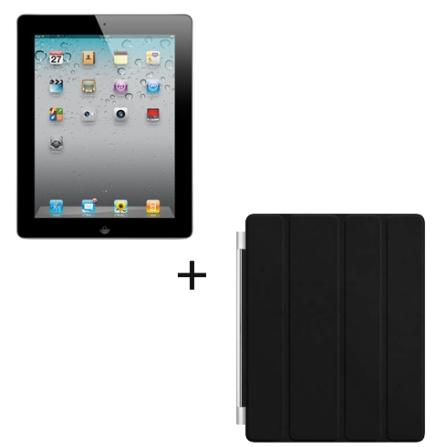 iPad 2 Apple Preto MC770BZA com 32GB de Memória, Tela Multi-Touch 9.7