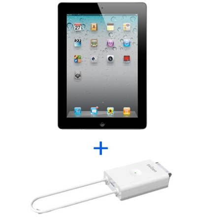 iPad 2 Apple 16GB Preto Tela 9.7+Receptor de TV