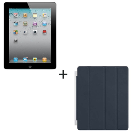 iPad 2 Apple com 16GB, Wi-Fi+3G + Capa Apple, AP