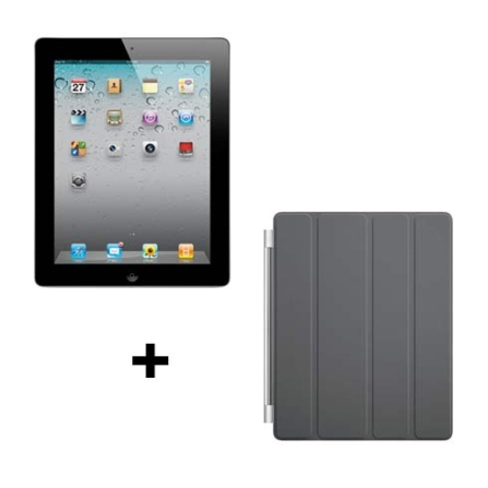 iPad 2 Apple Preto MC773BZA c/ 16GB, Tela Multi-Touch 9.7