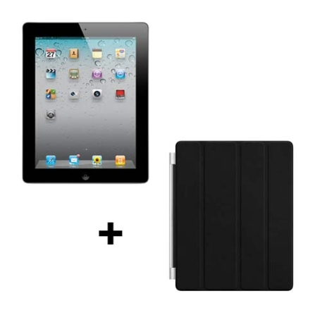 iPad 2 Apple Preto 32GB, Wi-Fi + 3G e Capa Apple