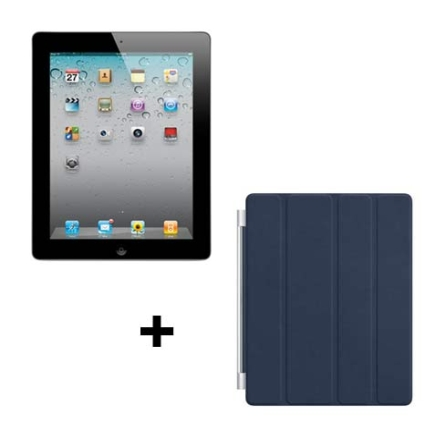 iPad 2 Apple Preto 32GB, Wi-Fi + 3G e Capa Apple