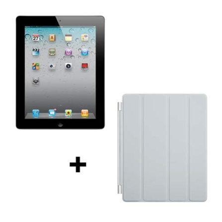 iPad 2 Apple Preto com 64GB,Wi-Fi+ 3G e Capa Apple