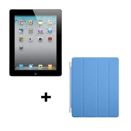 iPad 2 Apple Preto, 64GB, Wi-Fi + 3G e Capa Apple