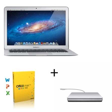 MacBook Air Apple MC965BZA, Super Drive e Office