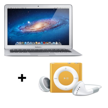 MacBook Air Apple MC968BZA + iPod shuffle com 2GB, AP