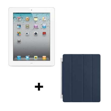 iPad 2 Apple Branco MC979BZA com 16GB de Memória, Tela Multi-Touch 9.7