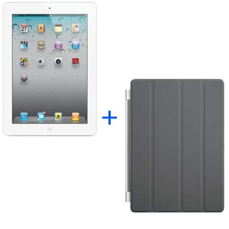 iPad 2 Branco 16GB+Smart Cover Cinza, AP