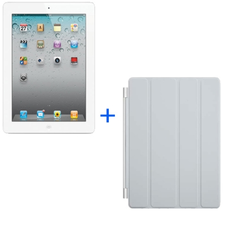 iPad 2 Branco  16GB+Smart Cover Cinza, AP
