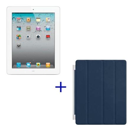 iPad 2 Apple Branco, 32GB, Wi-Fi + 3G e Capa Apple