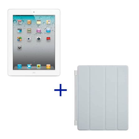iPad 2 Apple Branco, 32GB, Wi-Fi+ 3G e Capa Apple