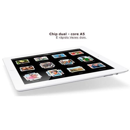 iPad 2 Apple Branco, 32GB,Wi-Fi+ 3G e Capa Apple