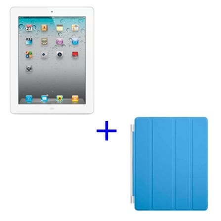 iPad 2 Apple Branco com 32GB, Wi-Fi+3G +Capa Apple