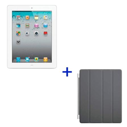 iPad 2 Apple Branco, 64GB, Wi-Fi + 3G e Capa Apple