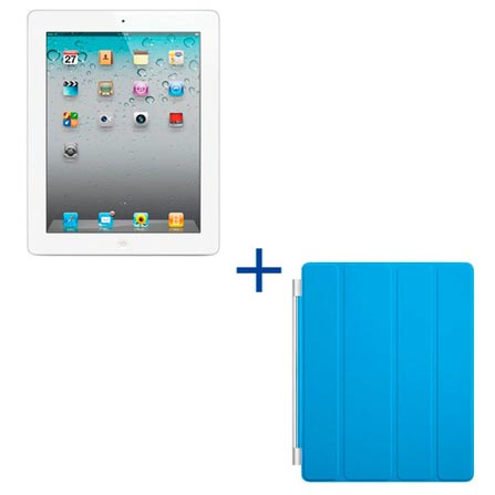 Novo design! iPad 2 Branco com 64GB e Wi-Fi + 3G