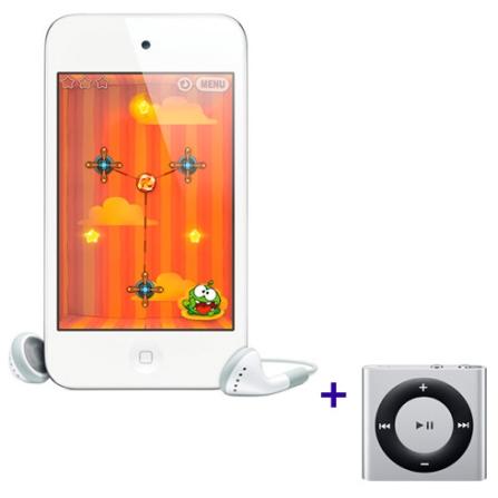 iPod touch Apple MD059 com Memória de 64GB, LCD de 3.5