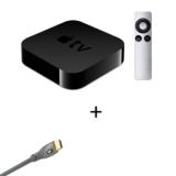 Apple TV - Alugue Filmes em HD, Assista a Vídeos do Netflix, YouTube e Vimeo + Cabo HDMI THX 700 – Monster