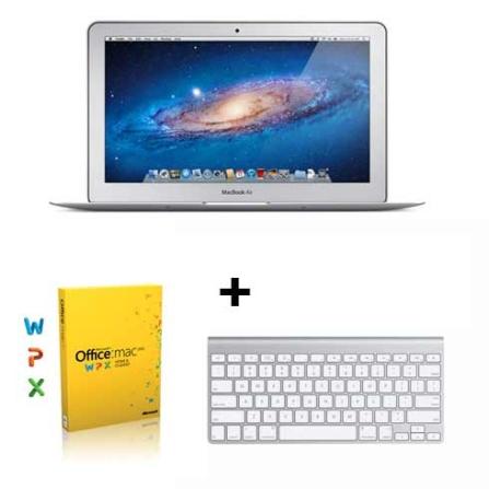 MacBook Air 11,6 Core i5, 4GB + Office + Teclado