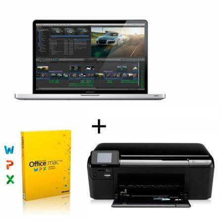 MacBook Pro MD311BZA Core i7, Office e Impressora
