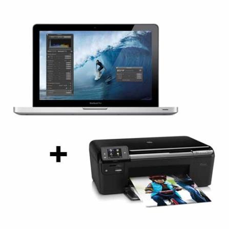 MacBook Pro Apple MD318BZA c/ 2ª Geração do Intel Core i7 2.2GHz, 4GB, 500GB HD, Tela 15.4