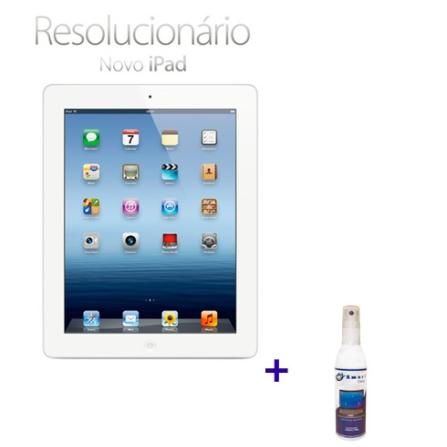 Novo iPad Branco MD328BZA com 16GB de Memória, Tela Retina Multi-Touch 9.7