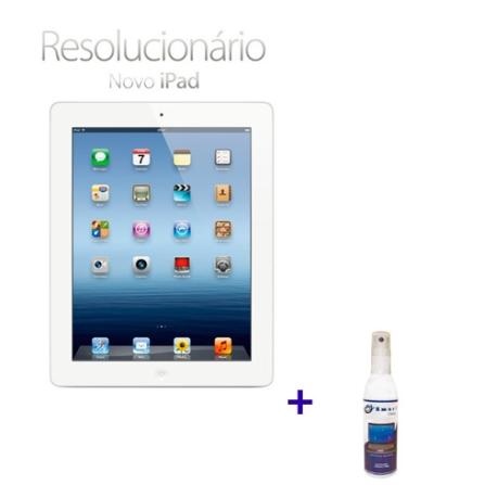 Novo iPad Branco MD329BZA com 32GB de Memória, Tela Retina Multi-Touch 9.7