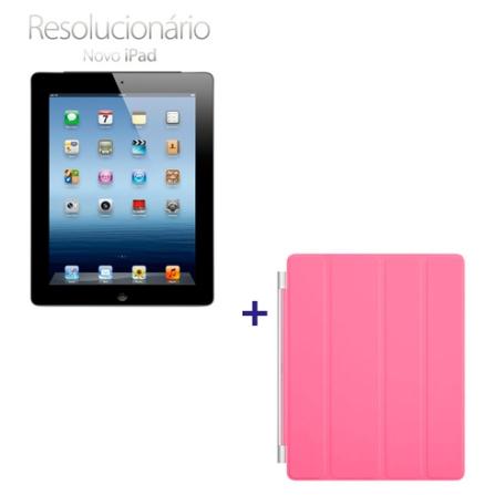 Novo iPad Preto MD366BZA com 16GB, Tela Retina Multi-Touch 9.7