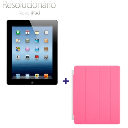 Novo iPad Preto MD367BZA com 32GB, Tela Retina Multi-Touch 9.7