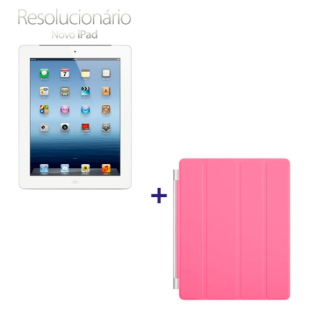 Novo iPad Branco MD370BZA com 32GB, Tela Retina Multi-Touch 9.7
