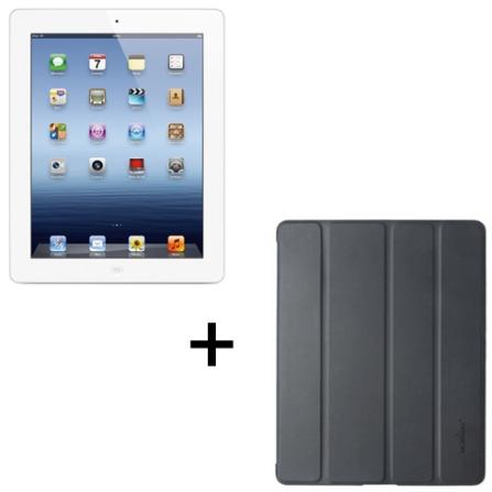 iPad 3ª Geração Branco com 64GB de Memória, Tela Retina, Câmera iSight 5.0MP, Wi-Fi + 4G*, Vídeos em HD, Chip Apple A5X