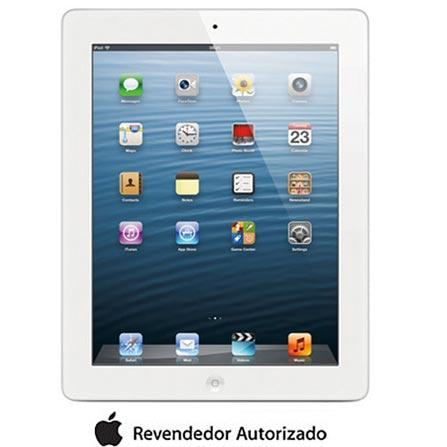 iPad com Tela Retina Apple Branco com 32GB, Tela Multi-Touch 9,7