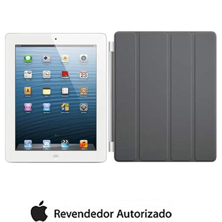 iPad com Tela Retina Apple Branco com 32GB, Tela Multi-Touch 9,7