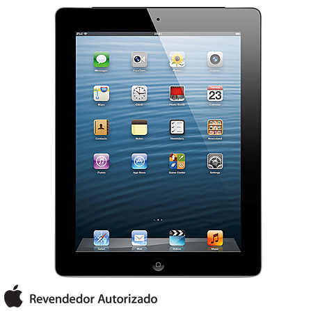 iPad com tela Retina Apple com 16GB e Wi-Fi + 4G, AP