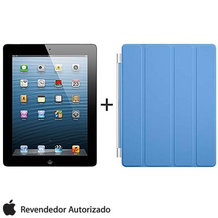 iPad com Tela Retina Apple Preto com 16GB, Tela Multi-Touch 9,7