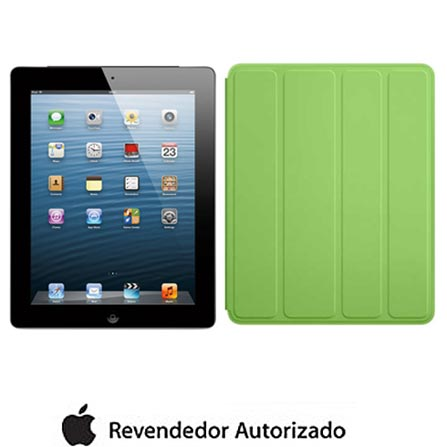 iPad com Tela Retina Apple Preto com 32GB, Tela Multi-Touch 9,7
