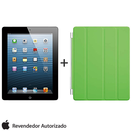 iPad com Tela Retina Apple Preto com 32GB, Tela Multi-Touch 9,7
