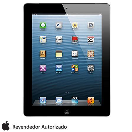 iPad com Tela Retina Apple 64GB Wi-Fi + 4G, AP