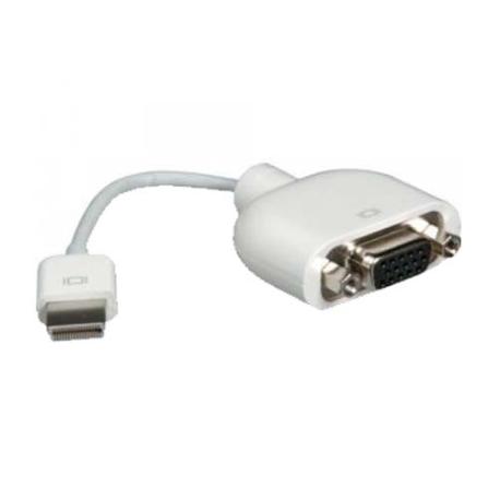 Adaptador Micro-DVI para VGA - Apple - MB203G_A, Não se aplica, 12 meses