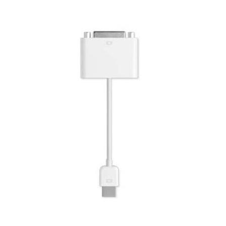 Adaptador Micro-DVI para DVI - Apple - MB204G_A, Não se aplica, 12 meses