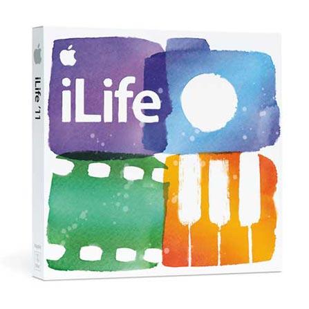 Software iLife'11 Pacote Familia - Apple - MC625ZA, AP
