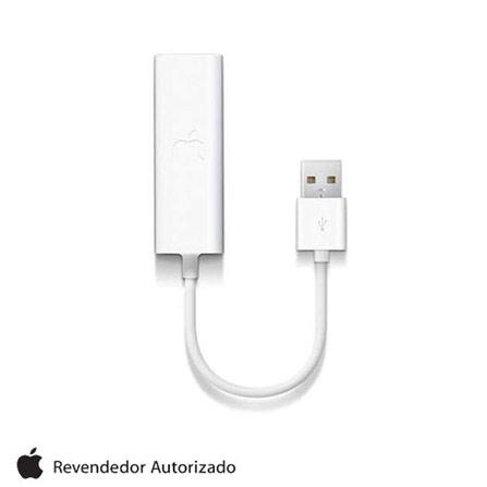 Adaptador para Macbook Externo USB Branco Apple - MC704BEA, Bivolt, Bivolt, Branco, 12 meses